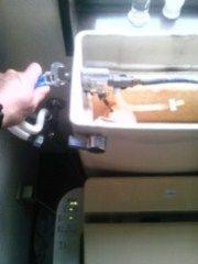 """#""""トイレタンクの修理"""""""