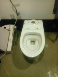 トイレをはずす