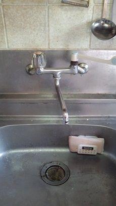 水漏れする蛇口