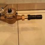 給水管の閉栓
