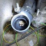 キッチンの排水管つまり