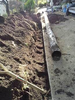 下水管工事